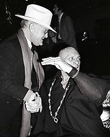 Capote Brenner6833.JPG<br /> New York, NY 1978 FILE PHOTO<br /> Truman Capote, Yul Brenner<br /> Studio 54<br /> Digital photo by Adam Scull-PHOTOlink.net<br /> ONE TIME REPRODUCTION RIGHTS ONLY<br /> NO WEBSITE USE WITHOUT AGREEMENT<br /> 718-487-4334-OFFICE  718-374-3733-FAX