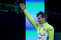 Primoz Roglic (SVK/LottoNL-Jumbo) takes the silver medal<br /> <br /> Men Elite Individual Time Trial<br /> <br /> UCI 2017 Road World Championships - Bergen/Norway