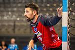 Primoz Prost (TVB Stuttgart #16) ; BGV Handball Cup 2020 Finaltag: TVB Stuttgart vs. FRISCH AUF Goeppingen am 13.09.2020 in Stuttgart (PORSCHE Arena), Baden-Wuerttemberg, Deutschland<br /> <br /> Foto © PIX-Sportfotos *** Foto ist honorarpflichtig! *** Auf Anfrage in hoeherer Qualitaet/Aufloesung. Belegexemplar erbeten. Veroeffentlichung ausschliesslich fuer journalistisch-publizistische Zwecke. For editorial use only.