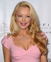 LOS ANGELES, CA, USA - NOVEMBER 08: Charlotte Ross arrives at the Unlikely Heroes' 3rd Annual Awards Dinner And Gala held at the Sofitel Hotel on November 8, 2014 in Los Angeles, California, United States. (Photo by Celebrity Monitor)