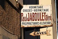 domaine paul jaboulet tain l hermitage rhone france