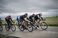 World Champion Mads Pedersen (DEN/Trek-Segafredo) up front<br /> <br /> 75th Omloop Het Nieuwsblad 2020 (1.UWT)<br /> Gent to Ninove (BEL): 200km<br /> <br /> ©kramon