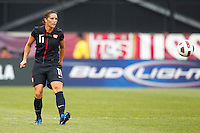 14 MAY 2011: USA Women's National Team defender Ali Krieger (11) during the International Friendly soccer match between Japan WNT vs USA WNT at Crew Stadium in Columbus, Ohio.