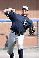 July 9th 2007:  Zach McAllister of the Staten Island Yankees, Class-A affiliate of the New York Yankees, at Dwyer Stadium in Batavia, NY.  Photo by:  Mike Janes/Four Seam Images