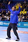 VELUX EHF 2019/20 EHF Men's Champions League Group Phase - Round 8.<br /> FC Barcelona vs Aalborg Handbold: 44-35.<br /> Kevin Moller.
