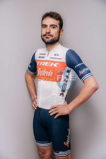 Jacopo Mosca (ITA) part of the Trek–Segafredo 2021 mens team.<br /> Picture: Jojo Harper/Trek Factory Racing | Cyclefile<br /> <br /> All photos usage must carry mandatory copyright credit (© Cyclefile | Jojo Harper/Trek Factory Racing)