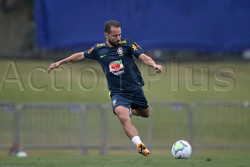 11th November 2020; Granja Comary, Teresopolis, Rio de Janeiro, Brazil; Qatar 2022 qualifiers; Everton Ribeiro of Brazil during training session in Granja Comary