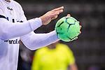 Feature: Handball / Hand / EHF EURO-Qualifikation / EM-Qualifikation / Handball-Laenderspiel: Deutschland - Estland am 02.05.2021 in Stuttgart (PORSCHE Arena), Baden-Wuerttemberg, Deutschland.<br /> <br /> Foto © PIX-Sportfotos *** Foto ist honorarpflichtig! *** Auf Anfrage in hoeherer Qualitaet/Aufloesung. Belegexemplar erbeten. Veroeffentlichung ausschliesslich fuer journalistisch-publizistische Zwecke. For editorial use only.
