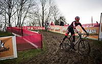 Fem Van Empel (NED/Pauwels Sauzen-Bingoal)<br /> <br /> 2021 UCI CX World Cup Overijse (BEL)<br /> Vlaamse Druivencross<br /> <br /> Women's Race<br /> <br /> ©kramon