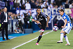 Danilo Luiz Da Silva of Real Madrid in action during their La Liga match between Deportivo Leganes and Real Madrid at the Estadio Municipal Butarque on 05 April 2017 in Madrid, Spain. Photo by Diego Gonzalez Souto / Power Sport Images