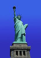 The Statue of Liberty. Staten Island, New York.