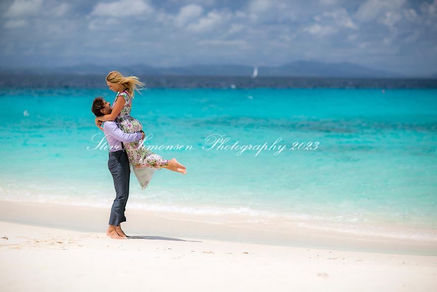 Engagement photos of Nathalie and Nevile<br /> British Virgin Islands