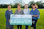 Brenda and Nicole O'Connor present a cheque for €13,745 to Comfort for Chemo from the Casement View Ardfert fundraising raffle on Sunday, l to r: Therese Carroll (Comfort for Chemo), Brenda and Nicole O'Connor and Helen Geary.