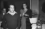 RENATO POZZETTO CON MARINA RIPA DI MEANA  BELLA BLU ROMA 1979