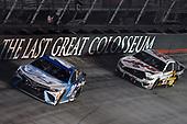 #20: Erik Jones, Joe Gibbs Racing, Toyota Camry Auto-Owners Insurance, #41: Cole Custer, Stewart-Haas Racing, Ford Mustang HaasTooling.com/Autodesk