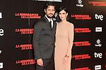 "Juan Diego Botto and Paz Vega attends ""La Ignorancia de la Sangre"" Premiere at Capitol Cinema in Madrid, Spain. November 13, 2014. (ALTERPHOTOS/Carlos Dafonte)"