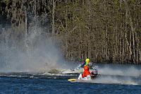 Frame 6: Serena Durr 96-F, Erin Pittman 6-H crash. (Outboard Hydroplanes)