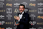 Luis Zahera (best supporting actor award for his role in 'El reino') attends to 33rd Goya Awards at Fibes - Conference and Exhibition  in Seville, Spain. February 03, 2019. (ALTERPHOTOS/A. Perez Meca)