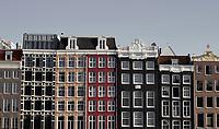 Nederland  Amsterdam-  2020.  Appartementen in het centrum van Amsterdam.    Foto : ANP/ HH / Berlinda van Dam