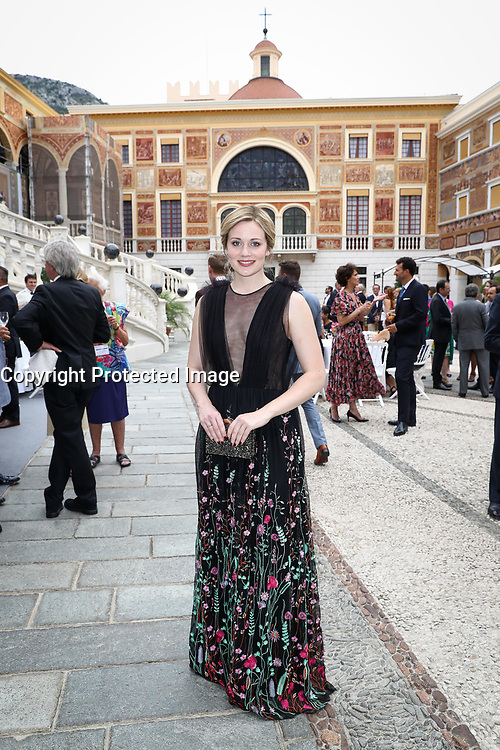 57th Monte-Carlo Television Festival cocktail at the Palace of Monaco. Cara Theobold.