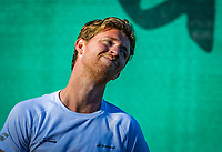 Netherlands, Oktober 24,  2021, Zuidwolde,  KIA Competition Men, premier league,  Suthwalda vs Spijkenisse, first single : Jannick Lupescu (NED)   <br /> Photo: Henk Koster/tennisimages.com