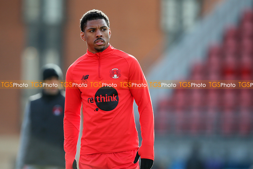 Tristan Abrahams of Leyton Orient during Leyton Orient vs Port Vale, Sky Bet EFL League 2 Football at The Breyer Group Stadium on 20th February 2021