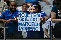 Belo Horizonte (MG), 01/03/2020- Cruzeiro-Uberlandia - Torcida - partida entre Cruzeiro e Uberlandia, valida pela 7a rodada do Campeonato Mineiro no Estadio Mineirao em Belo Horizonte neste domingo (01) (Foto: Giazi Cavalcante/Codigo 19/Codigo 19)