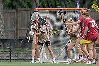 NEWTON, MA - MAY 16: Rachel Hall #1 of Boston College during NCAA Division I Women's Lacrosse Tournament second round game between Temple University and Boston College at Newton Campus Lacrosse Field on May 16, 2021 in Newton, Massachusetts.