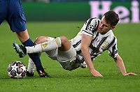 Football Soccer: UEFA Champions League -Round of 16 2nd leg Juventus vs FC Porto, Allianz Stadium. Turin, Italy, March 9, 2021.<br /> Juventus' Aaron Ramsey in action during the Uefa Champions League football soccer match between Juventus and Porto at Allianz Stadium in Turin, on March 9, 2021.<br /> UPDATE IMAGES PRESS/Isabella Bonotto