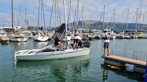 """""""Welcome to Carlingford"""" – Carlingford Marina provided an ideal base."""