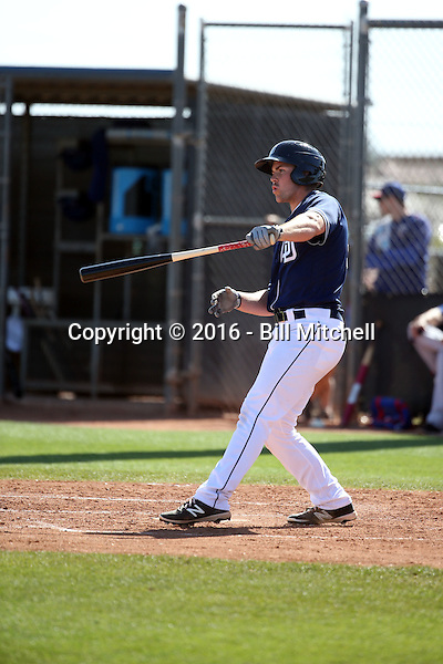 Michael Gettys - San Diego Padres 2016 spring training (Bill Mitchell)
