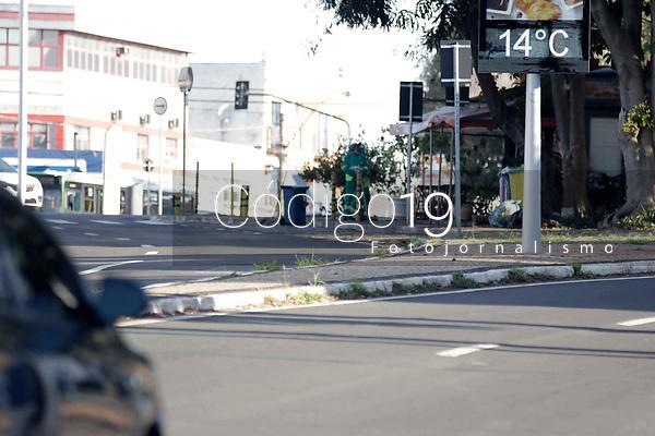 Campinas (SP), 24/05/2021 - Cidades - Movimentação na Av Andrade Neves, proximo a Torre do Castelo, na manha desta segunda-feira (24).
