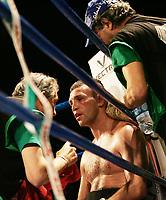 Michele Orlando (ITA) <br /> Roma, 22/06/2007<br /> Piazzale del Colosseo, pesi superwelter - 8 riprese, Michele Orlando vs Attila Kiss, vince Orlando ai punti.<br /> Photo Antonietta Baldassarre Insidefoto
