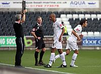 Pictured: Darren Pratley of Swansea City<br /> <br /> Coca Cola Championship, Swansea City FC v Burnley at the Liberty Stadium, Swansea. Saturday 20 September 2008.