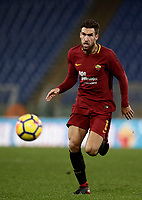 Calcio, Serie A: AS Roma vs Cagliari, Roma, stadio Olimpico, 16 dicembre 2017.<br /> Roma's Kevin Strootman in action during the Italian Serie A football match between AS Roma and Cagliari at Rome's Olympic stadium, December 16, 2017.<br /> UPDATE IMAGES PRESS/Isabella Bonotto