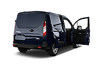 Rear three quarter door view of a 2014 Ford Transit Connect Trend 5 Door Minivan 2WD