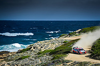 11th October 2020, Alghero, ‎Sardinia, Italy; WRC Rally of Sardinia;  THIERRY NEUVILLE who comes home in 2nd place