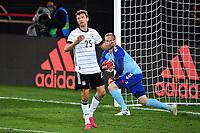 2nd June 2021, Tivoli Stadion, Innsbruck, Austria; International football friendly, Germany versus Denmark;  Thomas MUELLER GER after a goal scoring chance