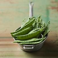 Gastronomie générale/Pois gourmands - Stylisme : Valérie LHOMME