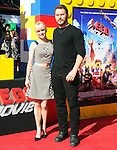 Anna Faris and Chris Pratt attends The Warner Bros' Pictures L.A. Premiere of The Lego Movie held at The Regency Village in Westwood, California on February 01,2014                                                                               © 2014 Hollywood Press Agency