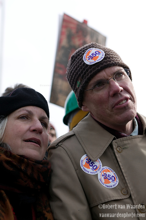 Terry Tempest Williams and Bill McKibben at the Capitol Coal Action in Washington, D.C. - ©Robert vanWaarden ALL RIGHTS RESERVED