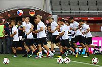 Abschlusstraining vor dem Spiel gegen die Tschechische Republik - 31.08.2017: Abschlusstraining Deutschland in Prag, Marriott Hotel