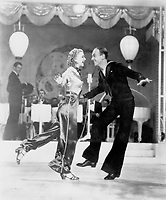 Ginger Rogers and Fred Astaire  in FOLLOW THE FLEET