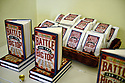 """CORAL GABLES, FL - JUNE 26: General view of books on display during author Les Standiford in conversation with Mitchell Kaplan discussing Les Standiford new book the """"Battle for the Big Top: P.T. Barnum, James Bailey, John Ringling, and the Death-Defying Saga of the American Circus"""" Hosted by Books and Books at Sanctuary of the Arts on June 26, 2021 in Coral Gables, Florida.   ( Photo by Johnny Louis / jlnphotography.com )"""