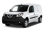 2020 Nissan NV250 Visia 5 Door Car Van Angular Front automotive stock photos of front three quarter view