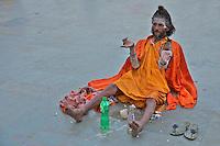 Sadu at Varanasi India,