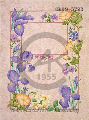 Ron, SYMPATHY, paintings, flowers(GBSG5793,#T#) Beileid, condolación, illustrations, pinturas ,everyday