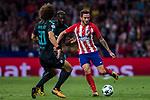 Saul Niguez Esclapez of Atletico de Madrid in action during the UEFA Champions League 2017-18 match between Atletico de Madrid and Chelsea FC at the Wanda Metropolitano on 27 September 2017, in Madrid, Spain. Photo by Diego Gonzalez / Power Sport Images