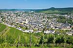 Germany, Rhineland-Palatinate, Ahr-Valley, Bad Neuenahr-Ahrweiler, district Ahrweiler: overview | Deutschland, Rheinland-Pfalz, Ahrtal, Bad Neuenahr-Ahrweiler, Stadtteil Ahrweiler: Stadtuebersicht