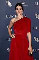 Gemma Arterton<br /> arriving for the LUMINOUS Gala 2019 at the Roundhouse Camden, London<br /> <br /> ©Ash Knotek  D3522 01/10/2019